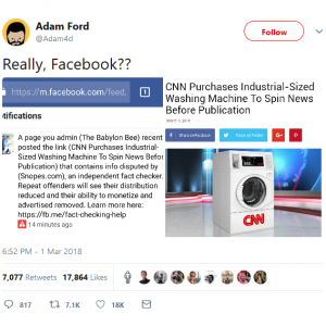 Adam Ford on Twitter: Really, Facebook???